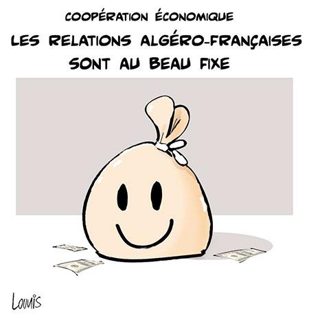 Les relations algéro-françaises sont au beau fixe - Lounis Le jour d'Algérie - Gagdz.com