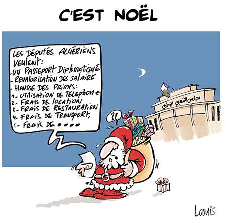C'est noël - Lounis Le jour d'Algérie - Gagdz.com