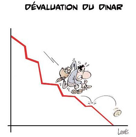 Dévaluation du dinar - Lounis Le jour d'Algérie - Gagdz.com