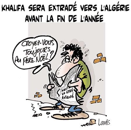 Khalifa sera extradé vers l'Algérie avant la fin de l'année - Lounis Le jour d'Algérie - Gagdz.com