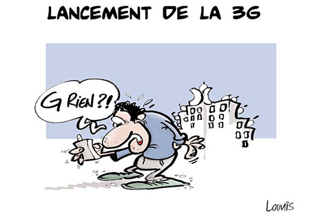 Lancement de la 3G - Lounis Le jour d'Algérie - Gagdz.com