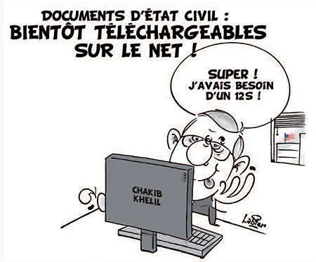 Les documents d'état civil bientôt téléchargeables sur le net - Vitamine - Le Soir d'Algérie - Gagdz.com