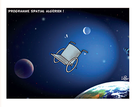 Programme spatial algérien - Vitamine - Le Soir d'Algérie - Gagdz.com