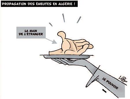 Propagation des émeutes en Algérie - Vitamine - Le Soir d'Algérie - Gagdz.com