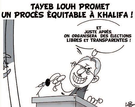 Tayeb Louh promet: Un procès équitable à Khalifa - Vitamine - Le Soir d'Algérie - Gagdz.com