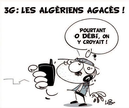 3G: Les Algériens agacés - Vitamine - Le Soir d'Algérie - Gagdz.com