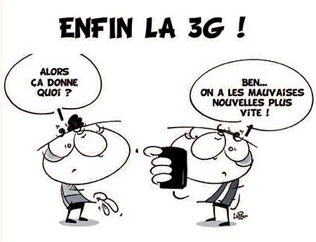 Enfin la 3G