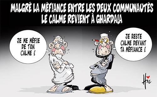 Malgré la méfiance entre les deux communautés: Le calme revient à Ghardaïa - Le Hic - El Watan - Gagdz.com