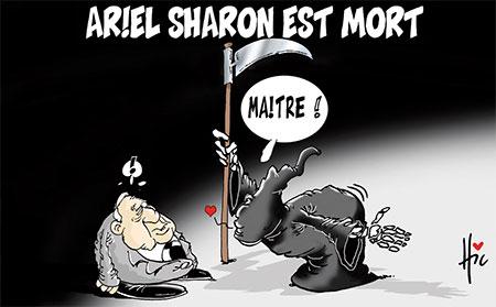 Ariel Sharon est mort