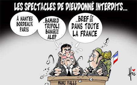 Les spectacles de Dieudonné interdits - Le Hic - El Watan - Gagdz.com
