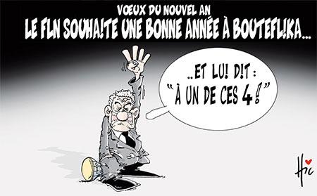 Le fln souhaite une bonne année à Bouteflika - Le Hic - El Watan - Gagdz.com