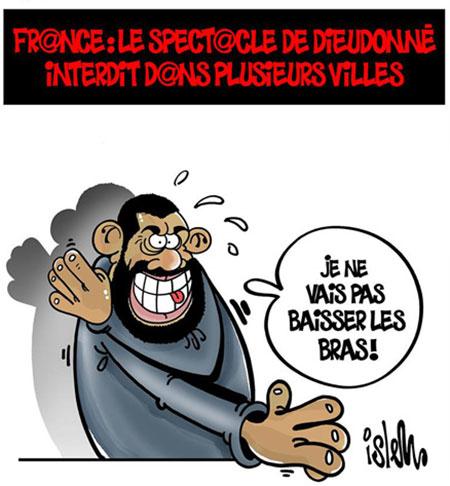 France: Le spectacle de Dieudonné interdit dans plusieurs villes
