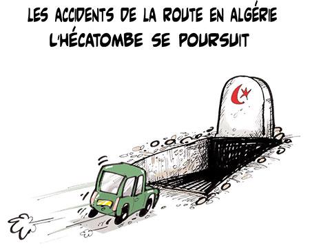 Les accidents de la route en Algérie: L'hécatombe se poursuit - Lounis Le jour d'Algérie - Gagdz.com