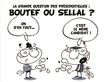La grande question des présidentielles: Boutef ou Sellal ?