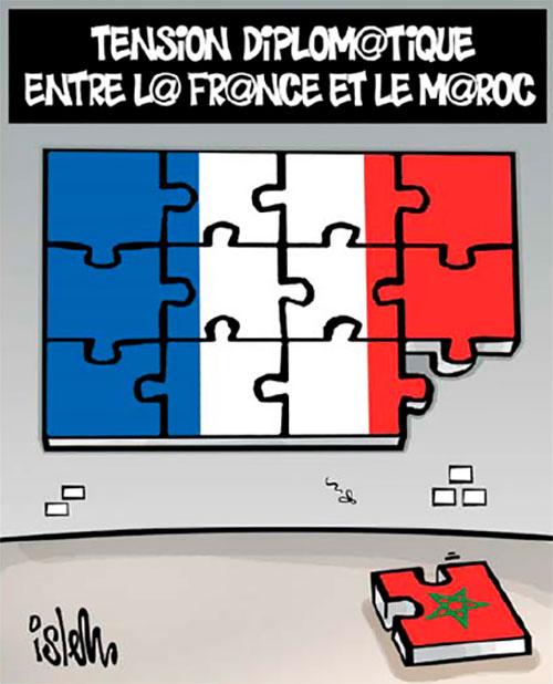 Tension diplomatique entre la France et le Maroc