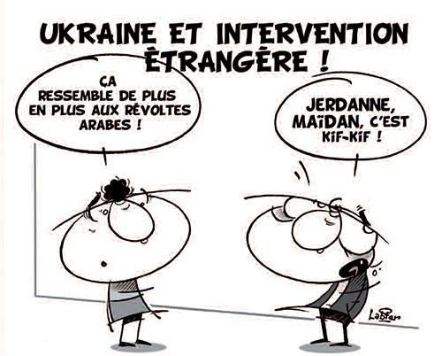 Ukraine et intervention étrangère - Vitamine - Le Soir d'Algérie - Gagdz.com