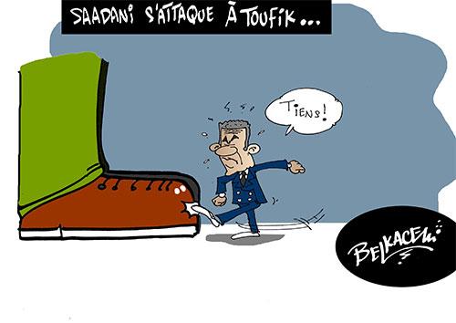 Saadani s'attaque à Toufik - Belkacem - Le Courrier d'Algérie - Gagdz.com