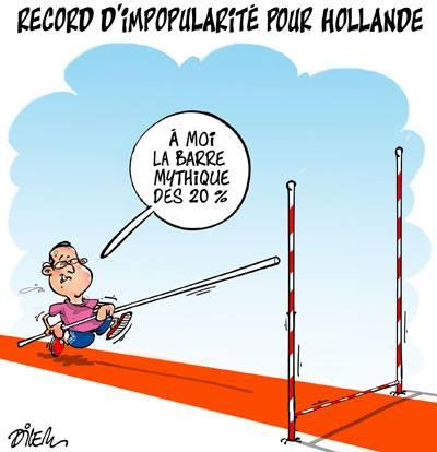 Jeux Olympique de Sochi : Record d'impopularité pour Hollande - Dilem - TV5 - Gagdz.com