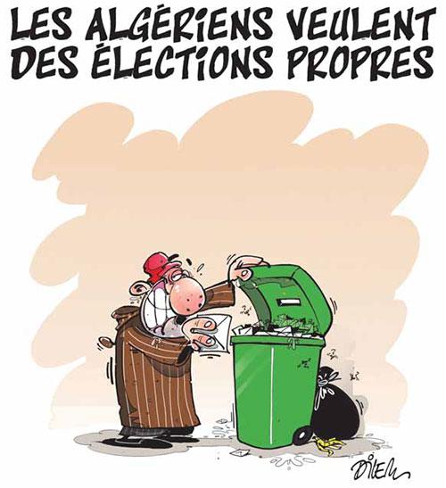 Les Algériens veulent des élections propres