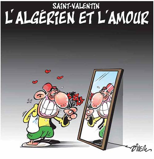 Saint-valentin: L'algérien et l'amour