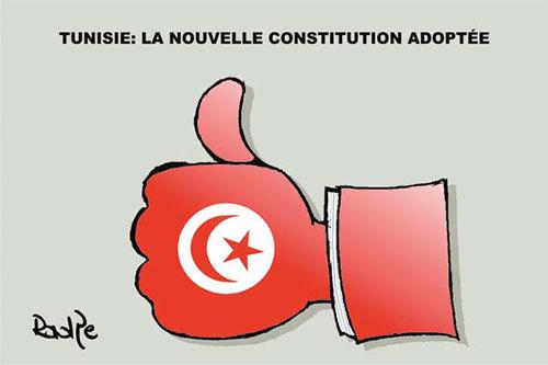 Tunisie: La nouvelle constitution adoptée