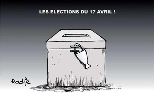 Les élections du 17 avril - Ghir Hak - Les Débats - Gagdz.com