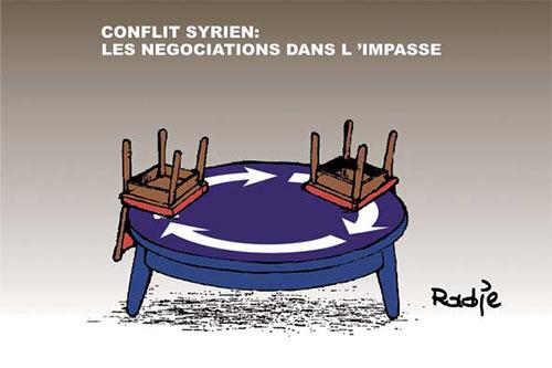 Conflit syrien: Les négociations dans l'impasse - Ghir Hak - Les Débats - Gagdz.com