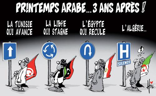 Printemps arabe 3 ans après - Le Hic - El Watan - Gagdz.com