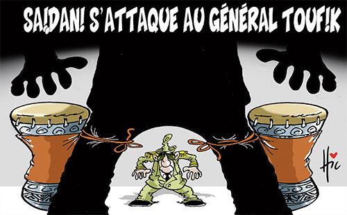 Saidani s'attaque au général Toufik - Le Hic - El Watan - Gagdz.com