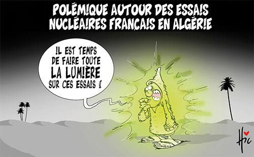 Polémique autour des essais nucléaires français en Algérie - Le Hic - El Watan - Gagdz.com