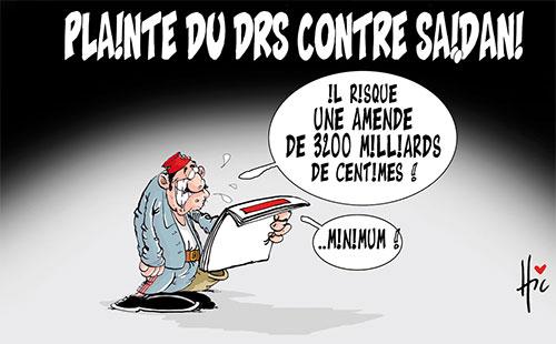 Plainte du drs contre Saidani - Le Hic - El Watan - Gagdz.com