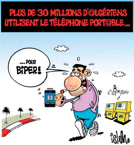 Plus de 30 millions d'algériens utilisent le téléphone portable - Islem - Le Temps d'Algérie - Gagdz.com