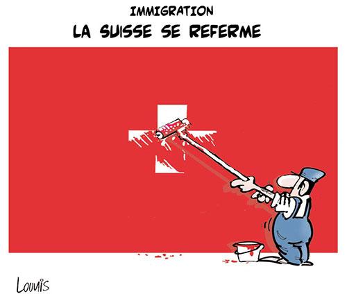 Immigration: La Suisse se referme - Lounis Le jour d'Algérie - Gagdz.com
