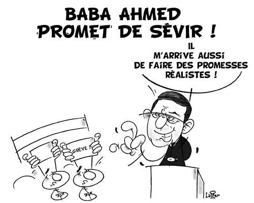 Baba Ahmed promet de sévir - Vitamine - Le Soir d'Algérie - Gagdz.com