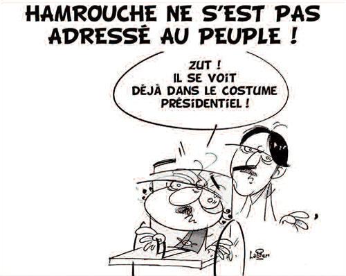 Hamrouche ne s'est pas adressé au peuple - Vitamine - Le Soir d'Algérie - Gagdz.com