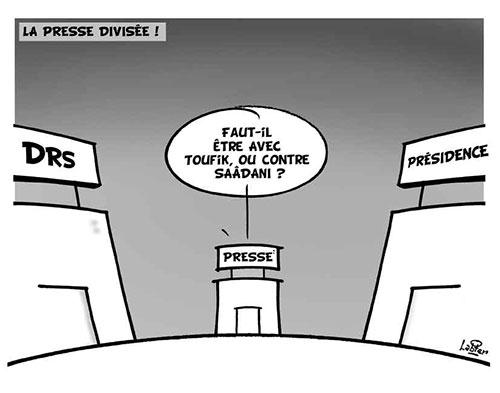 La presse divisée - Vitamine - Le Soir d'Algérie - Gagdz.com