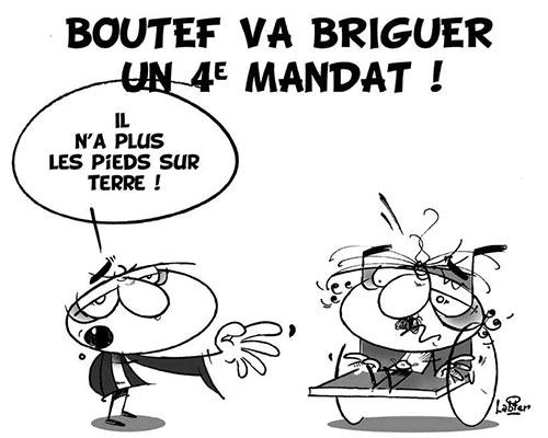 Boutef va briguer un 4e mandat - Vitamine - Le Soir d'Algérie - Gagdz.com