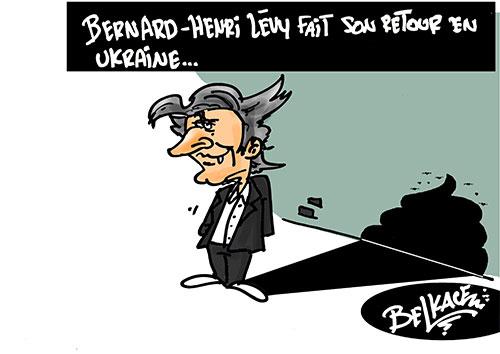 Bernard-Henry Levy fait son retour en Ukraine - Belkacem - Le Courrier d'Algérie - Gagdz.com