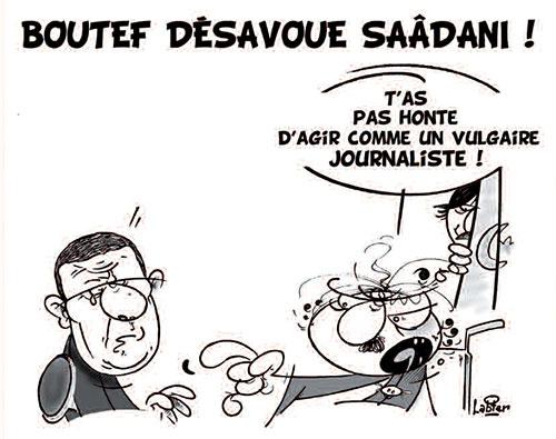 Boutef désavoue saâdani - Vitamine - Le Soir d'Algérie - Gagdz.com