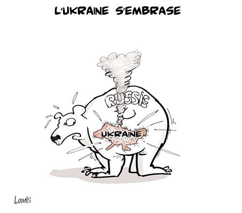 L'Ukraine s'embrase - Lounis Le jour d'Algérie - Gagdz.com