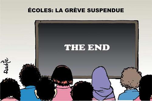 Ecoles: La grève suspendue - Ghir Hak - Les Débats - Gagdz.com