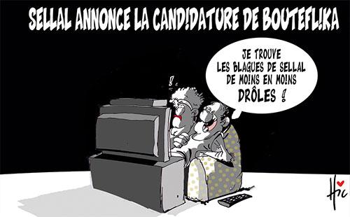 Sellal annonce la candidature de Bouteflika - Le Hic - El Watan - Gagdz.com