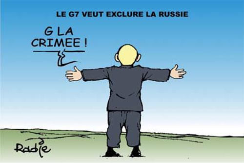 Le G7 veut exclure la Russie - Ghir Hak - Les Débats - Gagdz.com