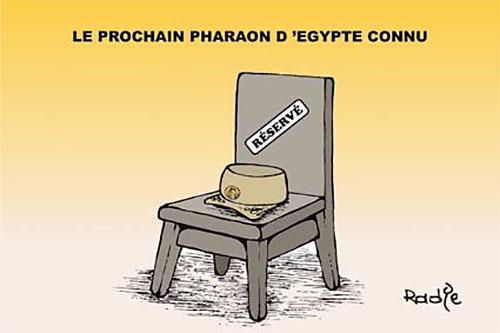 Le prochain pharaon d'Egypte connu - Ghir Hak - Les Débats - Gagdz.com