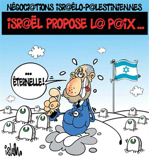 Négociations israelo-palestiniennes: Israël propose la paix