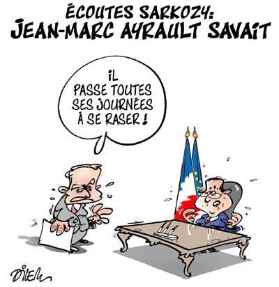 Ecoutes Sarcozy, Jean-Marc Ayrault savait - Dilem - TV5 - Gagdz.com