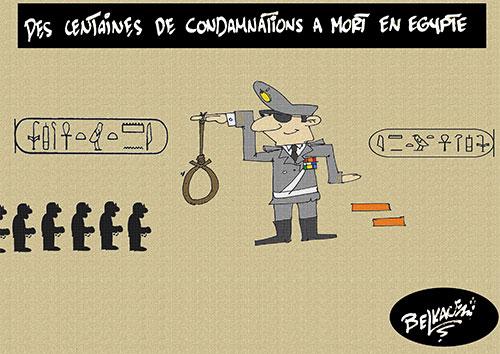 Des centaines de condamnations a mort en Egypte - Belkacem - Le Courrier d'Algérie - Gagdz.com