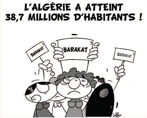 L'Algérie a atteint 38,7 millions d'habitants
