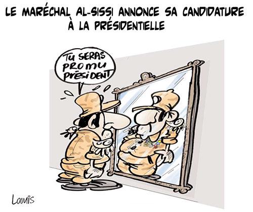 Le maréchal Al-Sissi annonce sa candidature à la présidentielle - Lounis Le jour d'Algérie - Gagdz.com