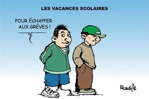 Les vacances scolaires - Ghir Hak - Les Débats - Gagdz.com